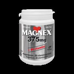 MAGNEX 375MG+B6-VITAMIINI X180 TABL