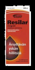 RESILAR 3 mg/ml oraaliliuos 200 ml