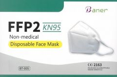 Hengityssuojain KN95/FFP2 2 kpl